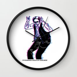Dojo of Coolness Wall Clock