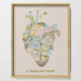 A Traveller's Heart (UK) Serving Tray
