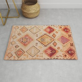 Traditional Oriental Desert Bohemian Moroccan Style  Rug