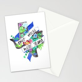Don't Mess with Texas Stationery Cards