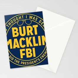 BURT FBI MACKLIN Stationery Cards