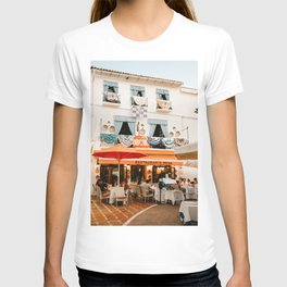 Orange terrace in old town Marbella, Spain | Travel and vacation photography | printable photo art Spain T-shirt