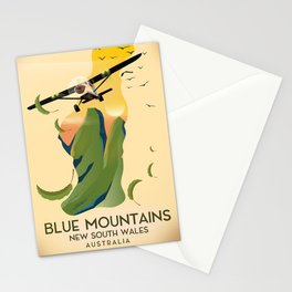 Blue Mountains New South Wales Australia Stationery Cards