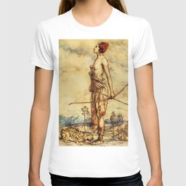 Bare chested archer T-shirt