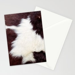 Cowhide Fur Stationery Cards