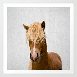 Horse - Colorful Art Print
