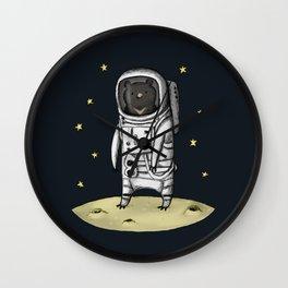Moon Bear Wall Clock