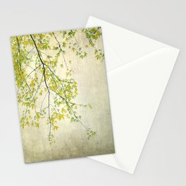 wake me up when september ends Stationery Cards