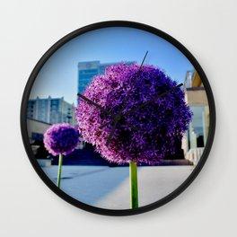Cinci Flowers Wall Clock