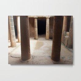 doorway - tomb of the kings Metal Print