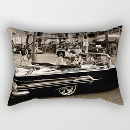Classic Black Car Rectangular Pillow