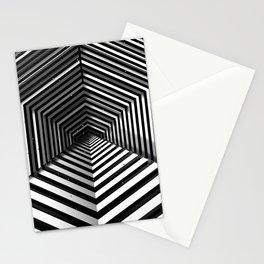 Hexagonal portal Stationery Cards