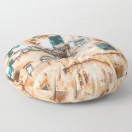 Positano, beauty of Italy Floor Pillow