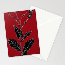 Rock Pituri (Also known as Bone Marrow Tobacco) - Nicotiana gossei Stationery Cards
