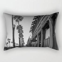 Newport Boardwalk Morning Rectangular Pillow