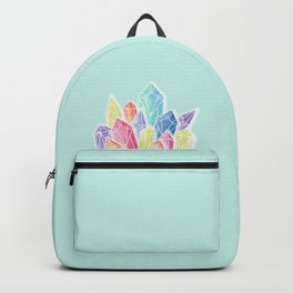 Crystals Green Backpack