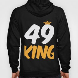 49. Birthday Present 49 Years Old Funny Gift Hoody
