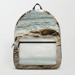 Blue Sea Island Backpack