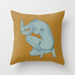 Alrighty Aphrodite Throw Pillow