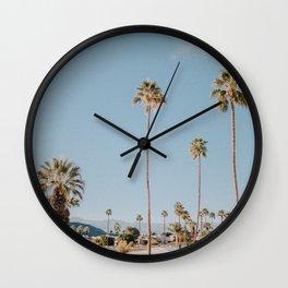 Palm Springs Skyline  Wall Clock