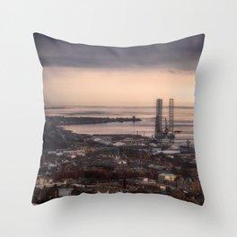 The Tay Estuary Throw Pillow