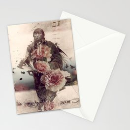 Flowers Will Bloom, Ravens Will Fly Stationery Cards