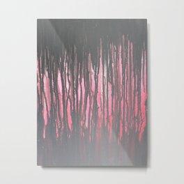 """Negitive Space"" Metal Print"