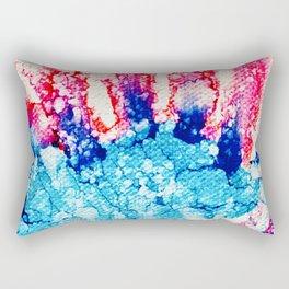 Blue Blast! Rectangular Pillow