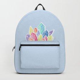Crystals Blue Backpack
