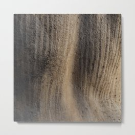 Weathered texture Metal Print