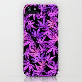 Purple Weed iPhone Case