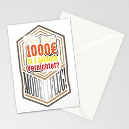 Model Aircraft Making Gift Idea Stationery Cards