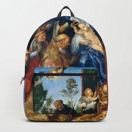 """Albrecht Dürer """"Feast of Rose Garlands"""" Backpack"""