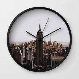 Rockefeller Center / New York City Wall Clock
