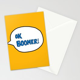 Ok Boomer! Stationery Cards
