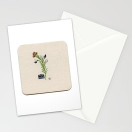 Detective Herb - Miniature Watercolor Painting Print from My Favorite Murder Stationery Cards