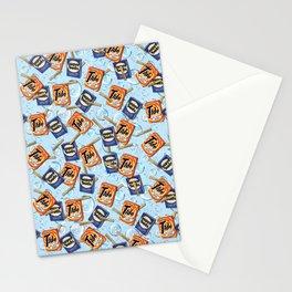 Retro Laundry Room Stationery Cards