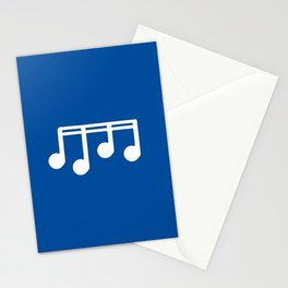 melody, note and music 7 Stationery Cards