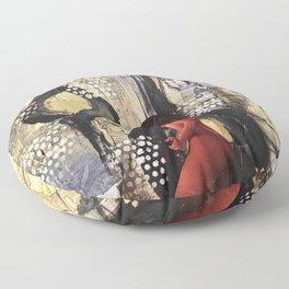Abstract Experimentation V 3.0 Floor Pillow