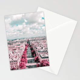 Pink Paris Photography  Stationery Cards