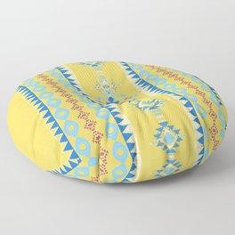 Bright Boho Tribal Pattern Floor Pillow