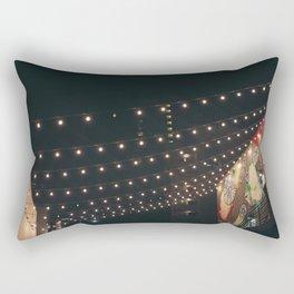 String Lights Rectangular Pillow