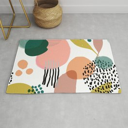 Abstract Modern Art Pattern 2 Rug
