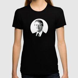 Jimmy Carter Former President Portrait T-shirt