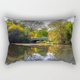 Lullwater Bridge, Brooklyn NY Rectangular Pillow