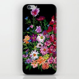 Zinnias and Gladiolus Bouquet iPhone Skin