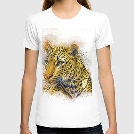 Leopard Art T-shirt