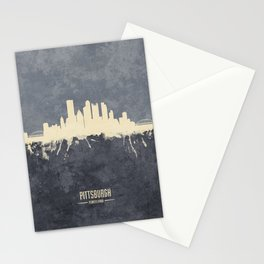 Pittsburgh Pennsylvania Skyline Stationery Cards