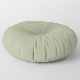 Lush Earthy Meadow Green Solid Color Floor Pillow