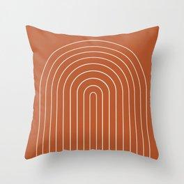 Minimalist Arch XX Throw Pillow